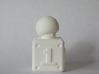 1 UP 3d printed From the Left