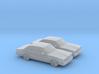 1/160 2X 1978-80 Pontiac LeMans Sedan 3d printed