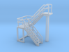 N Scale Staircase H=23.8mm 3d printed